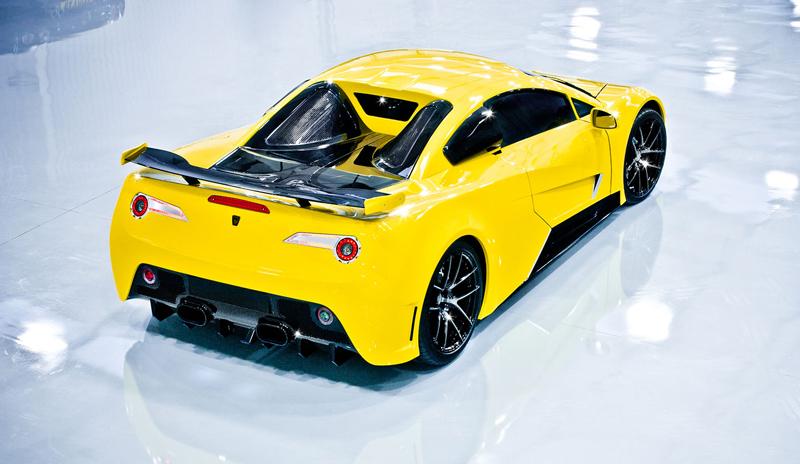 Arash AF8: Britský supersport se 7,0 V8 (410 kW): - fotka 16