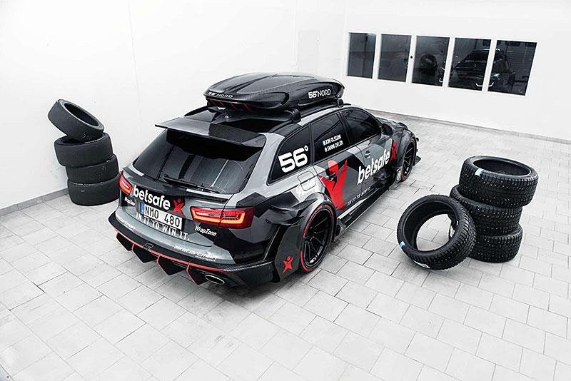 Jon Olsson má 950koňové Audi RS 6 DTM: - fotka 3