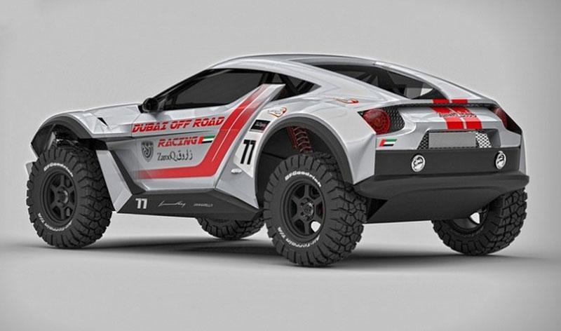 Zarooq Motors Sand Racer: Arabský supersportovní off-road bude mít přes 500 koní: - fotka 11
