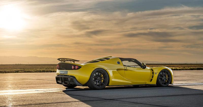 Hennessey Venom GT Spyder je nejrychlejší kabriolet na světě: - fotka 14