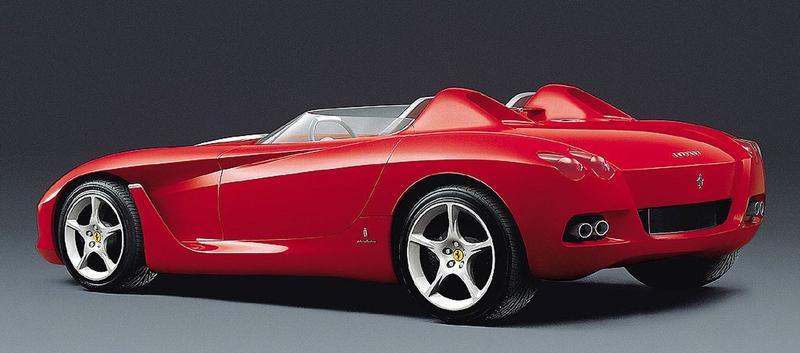 Pod lupou: Pininfarina Ferrari Rossa (2000) - Speedster k narozeninám: - fotka 12