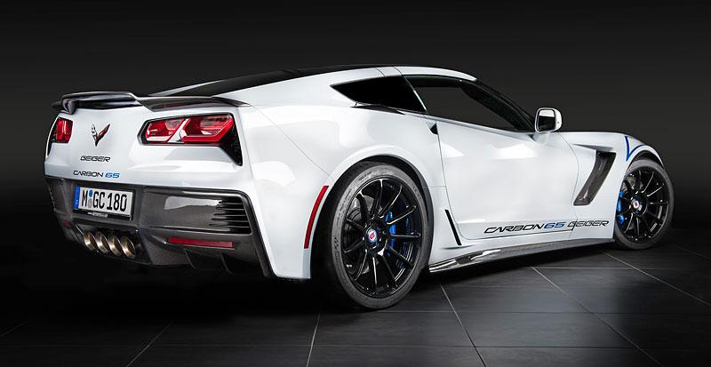 Chevrolet Corvette Z06 Carbon 65 Edition je stylová oslava výročí od GeigerCars: - fotka 7