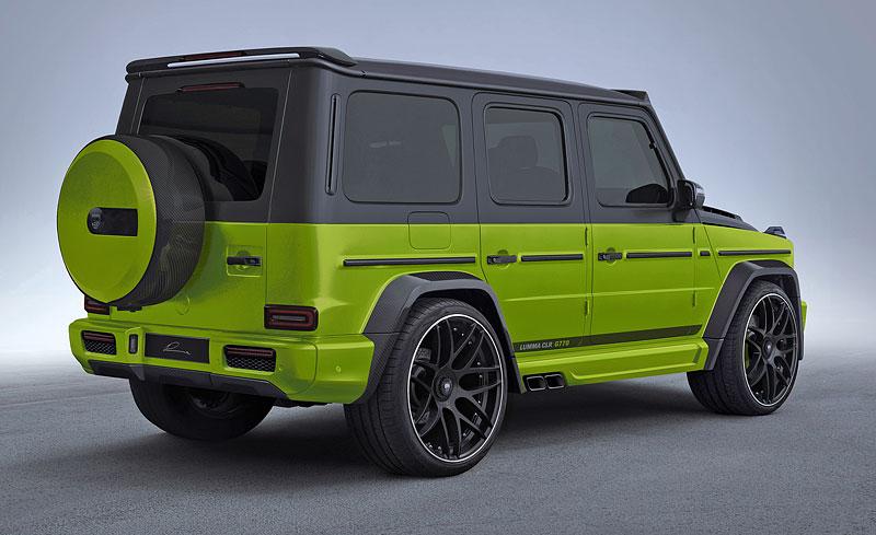Lumma Design a záplava uhlíkových vláken pro nový Mercedes-AMG G 63: - fotka 7