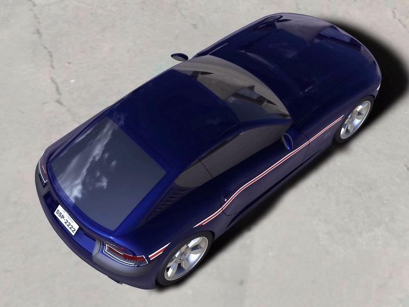 VW SP-2 Concept: Scirocco by mohlo mít sourozence: - fotka 17