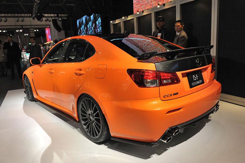 Lexus: IS F jako odlehčený speciál: - fotka 12