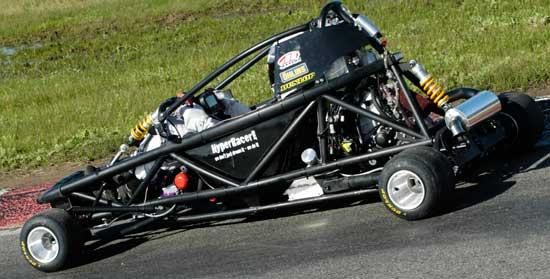 Hyper PRO Racer: Supermotokára s hmotností jen 160 kilogramů!: - fotka 9