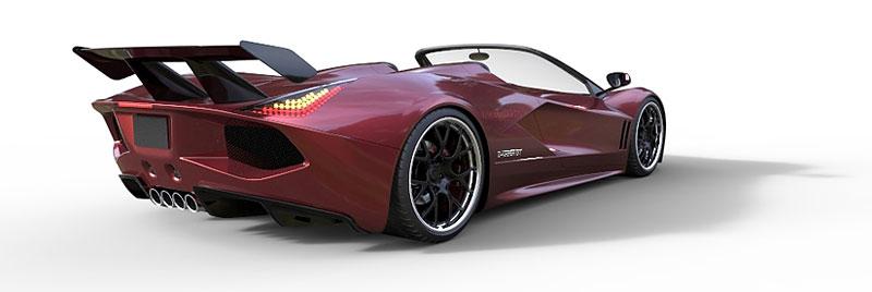 TranStar Dagger GT: supersport s výkonem 2000 koní: - fotka 15