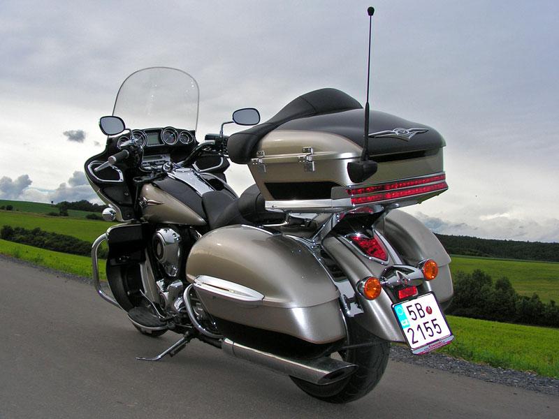 Test: Kawasaki VN1700 Voyager a srovnání s Harley-Davidson Electra Glide: - fotka 20