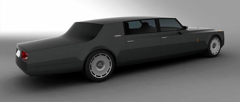 ZiL Concept: budoucnost prezidentských limuzín: - fotka 14