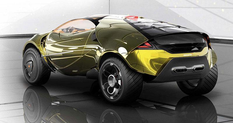 McLaren: studie crossoverů pro rok 2020 (+videa): - fotka 21