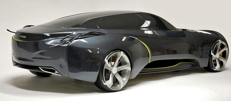Saab: koncept sedanu pro rok 2025: - fotka 7