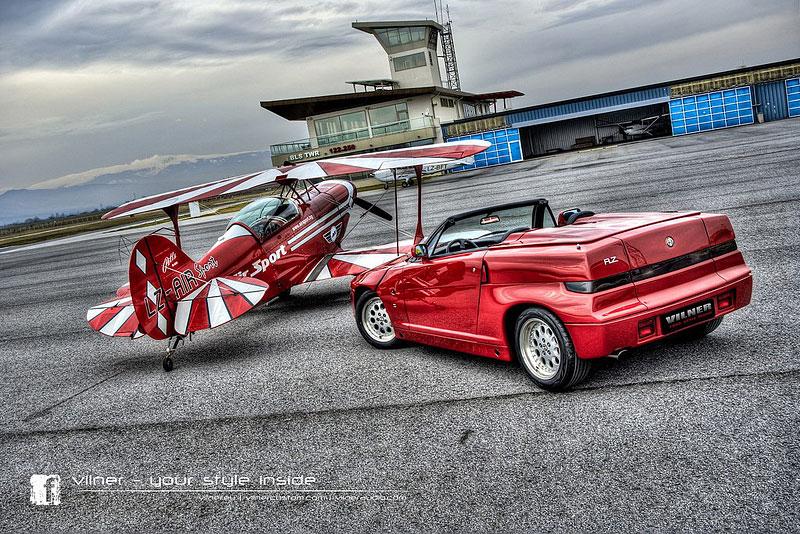 Vilner Il Mostro: Alfa Romeo RZ jako ze škatulky: - fotka 13