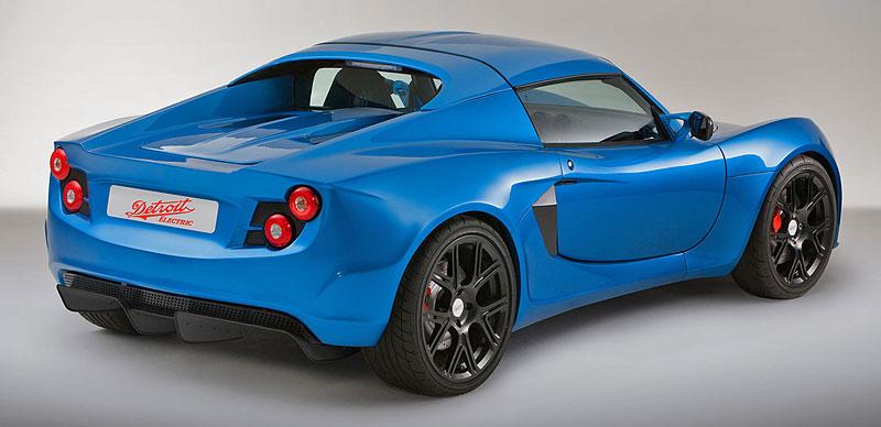 Detroit Electric SP:01: nepřímý nástupce pro Tesla Roadster: - fotka 8