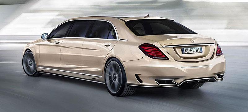 Mercedes-Benz třídy S Pullman od ARES Atelier: - fotka 7