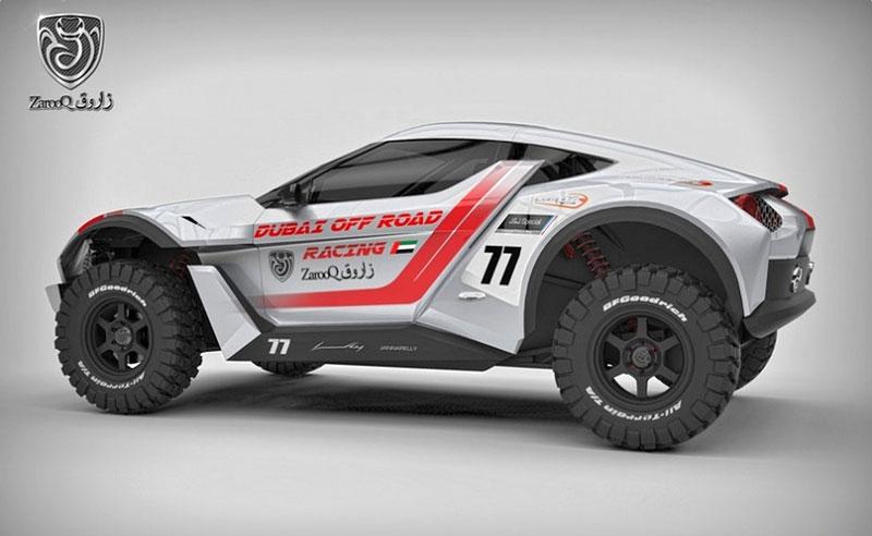 Zarooq Motors Sand Racer: Arabský supersportovní off-road bude mít přes 500 koní: - fotka 12