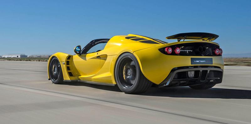 Hennessey Venom GT Spyder je nejrychlejší kabriolet na světě: - fotka 15