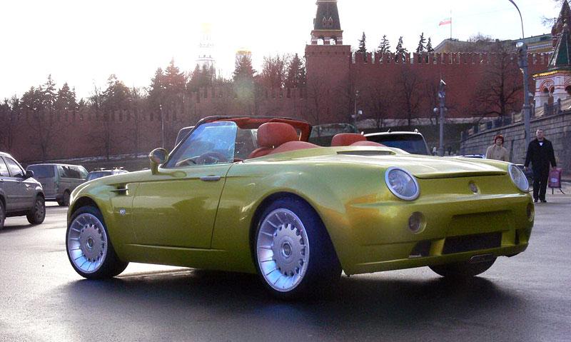 Cardi Body II: dvoumístný roadster s technikou BMW: - fotka 10