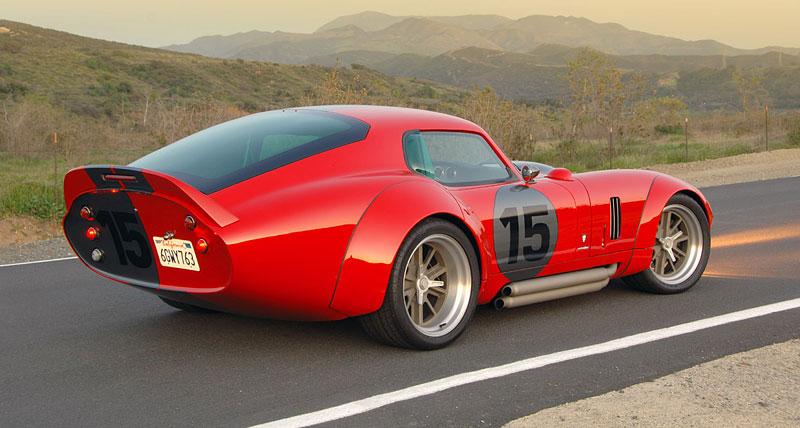 Shelby Daytona Coupe Le Mans Edition: replika závodní hvězdy: - fotka 16