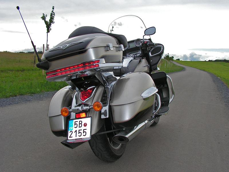 Test: Kawasaki VN1700 Voyager a srovnání s Harley-Davidson Electra Glide: - fotka 21