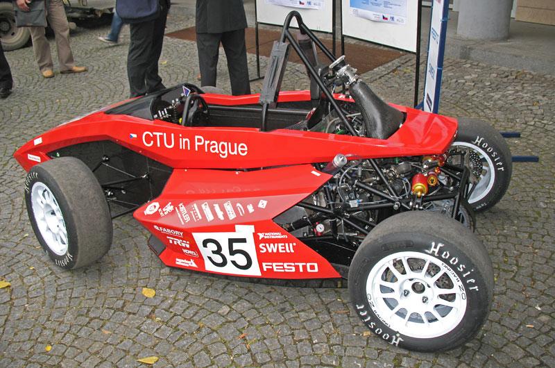 CTU CarTech FS.02: Studentská formule z pražského ČVUT: - fotka 20