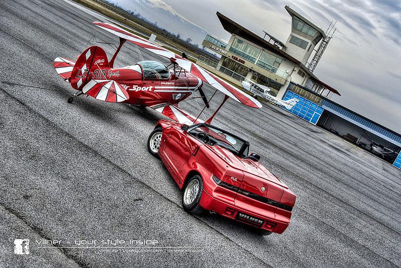 Vilner Il Mostro: Alfa Romeo RZ jako ze škatulky: - fotka 14