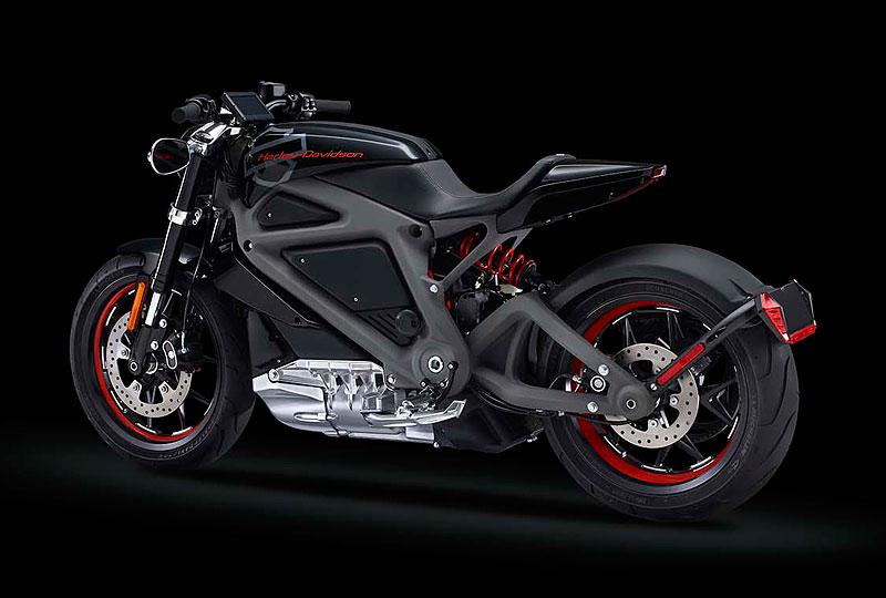 Harley-Davidson Livewire: Elektrická revoluce v Milwaukee: - fotka 7