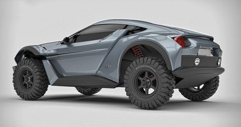 Zarooq Motors Sand Racer: Arabský supersportovní off-road bude mít přes 500 koní: - fotka 13