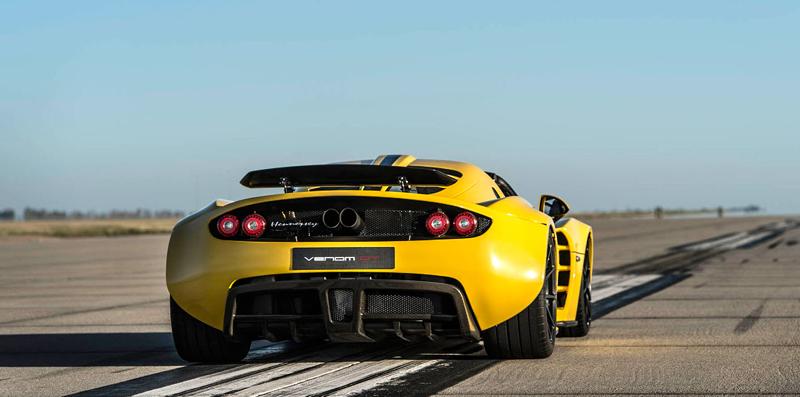 Hennessey Venom GT Spyder je nejrychlejší kabriolet na světě: - fotka 16