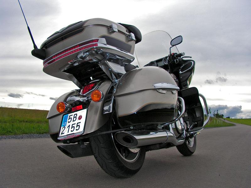 Test: Kawasaki VN1700 Voyager a srovnání s Harley-Davidson Electra Glide: - fotka 22