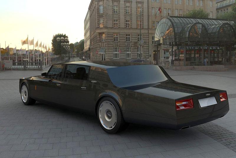 ZiL Concept: budoucnost prezidentských limuzín: - fotka 16