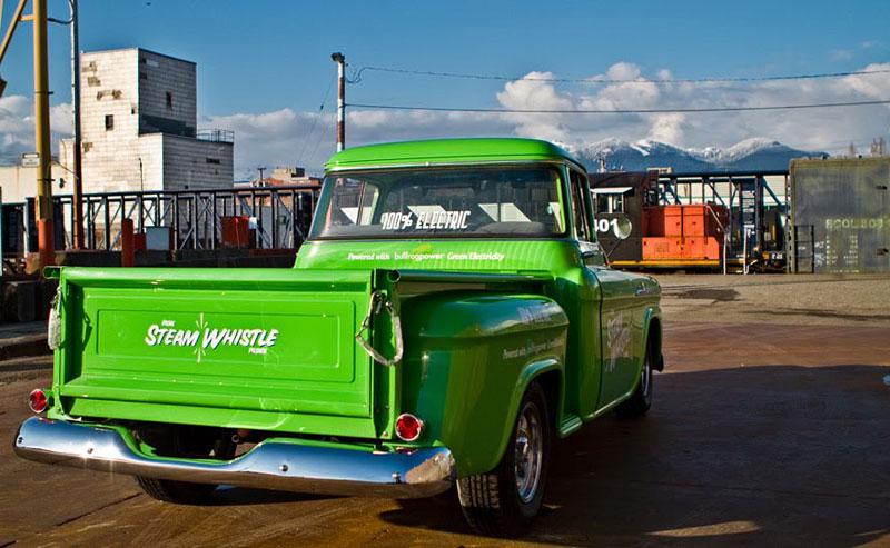Retro Electro: 1958 Chevrolet Apache na elektřinu (video): - fotka 18