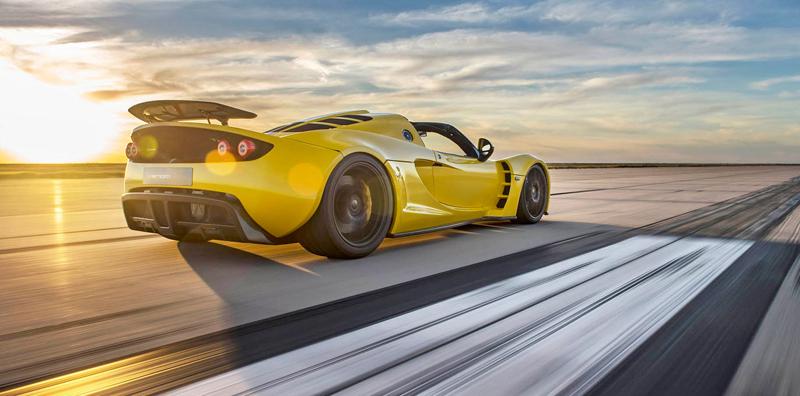 Hennessey Venom GT Spyder je nejrychlejší kabriolet na světě: - fotka 17