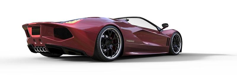 TranStar Dagger GT: supersport s výkonem 2000 koní: - fotka 17