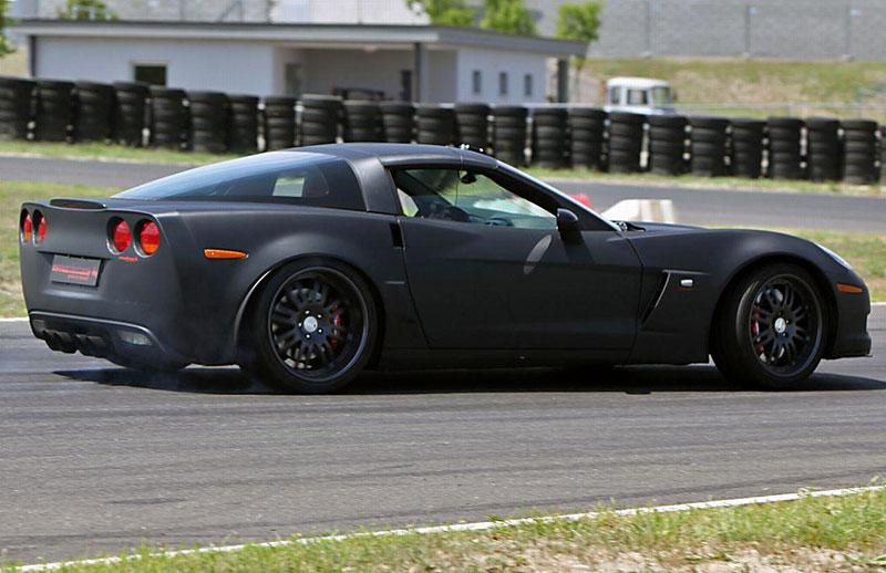 Corvette Z06 Romeo Ferraris: hamburger se špagetami: - fotka 15