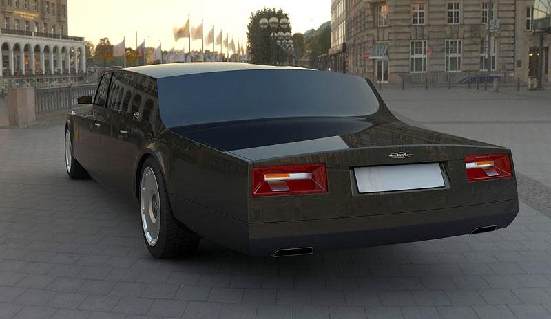 ZiL Concept: budoucnost prezidentských limuzín: - fotka 17