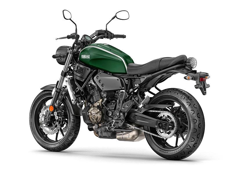 Yamaha XSR700: Rychlý potomek: - fotka 24