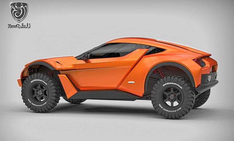 Zarooq Motors Sand Racer: Arabský supersportovní off-road bude mít přes 500 koní: - fotka 15