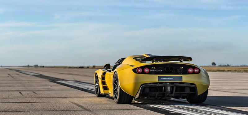 Hennessey Venom GT Spyder je nejrychlejší kabriolet na světě: - fotka 18
