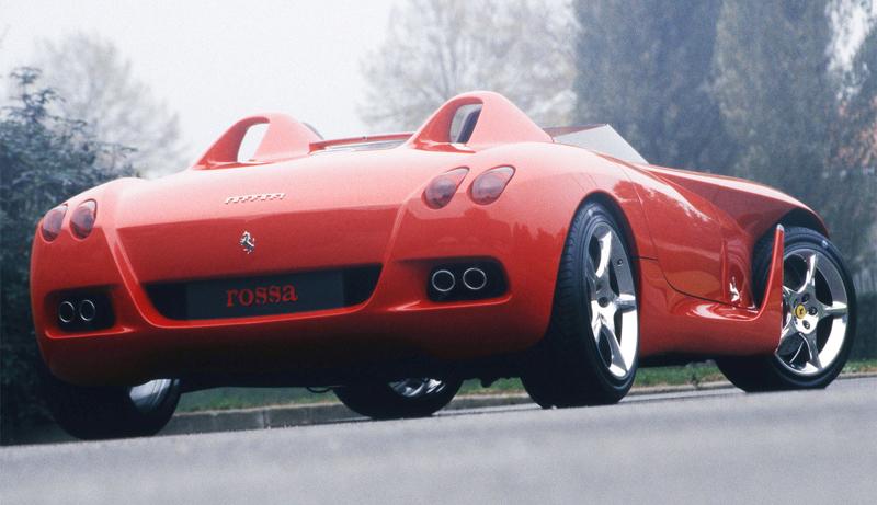 Pod lupou: Pininfarina Ferrari Rossa (2000) - Speedster k narozeninám: - fotka 13