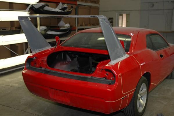 HPP Dodge Challenger Daytona Concept: - fotka 31