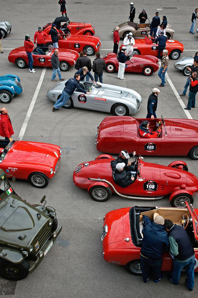 Reportáž: Mille Miglia 2010: - fotka 46