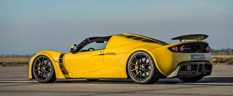 Hennessey Venom GT Spyder je nejrychlejší kabriolet na světě: - fotka 19