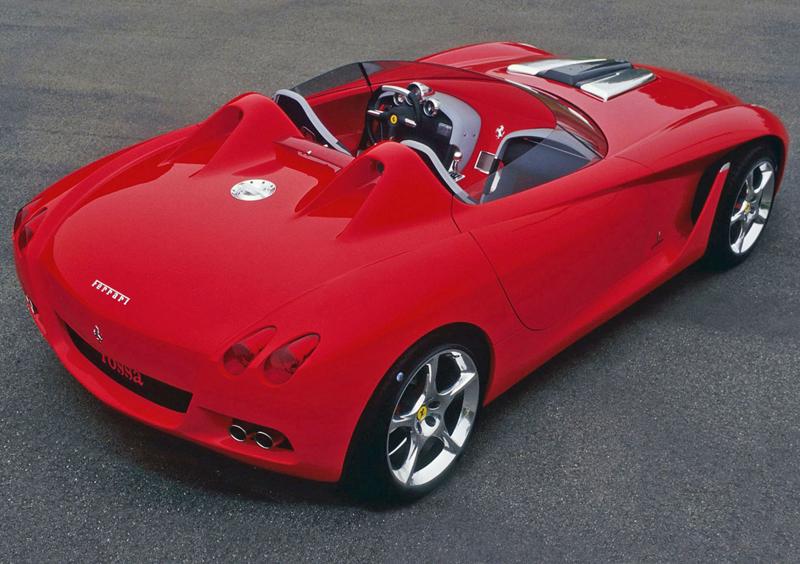 Pod lupou: Pininfarina Ferrari Rossa (2000) - Speedster k narozeninám: - fotka 14