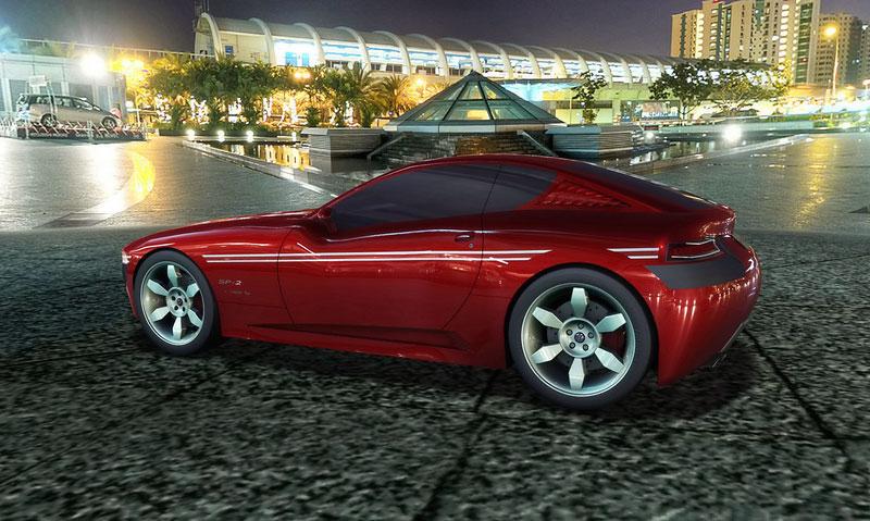 VW SP-2 Concept: Scirocco by mohlo mít sourozence: - fotka 23