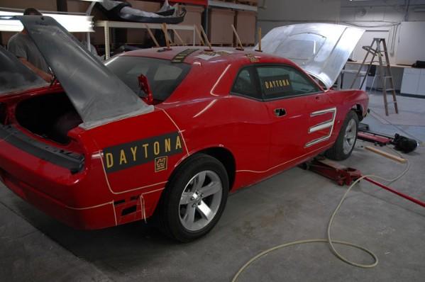 HPP Dodge Challenger Daytona Concept: - fotka 32