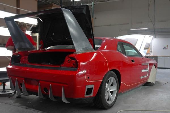 HPP Dodge Challenger Daytona Concept: - fotka 33
