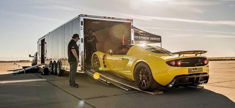 Hennessey Venom GT Spyder je nejrychlejší kabriolet na světě: - fotka 20