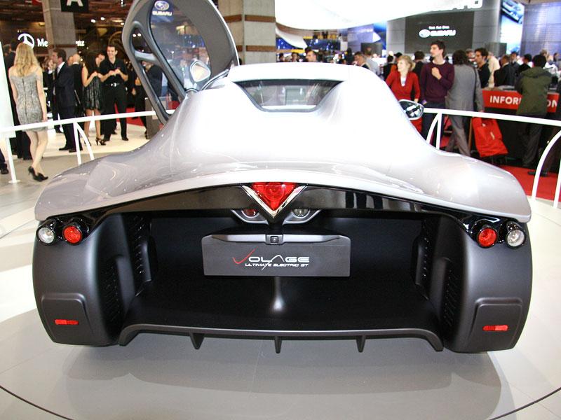 Paříž 2008: elektrický koncept Venturi Volage: - fotka 7