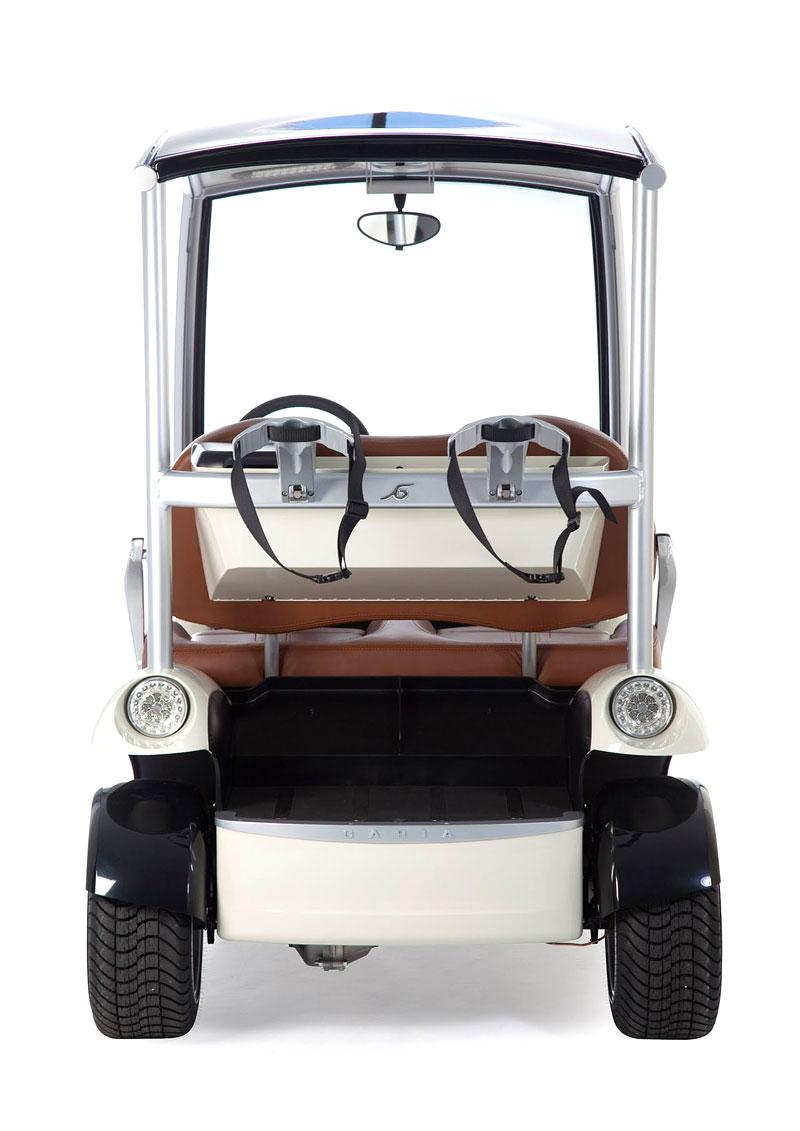 Garia: luxusní vozík pro milovníky golfu: - fotka 25