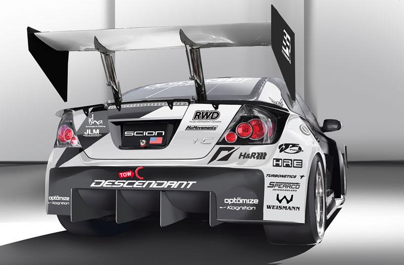Scion tC Need for Speed Racing: 1100 koní a pohon všech kol: - fotka 10